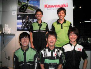 カワサキ正規取扱店リアルアイズ大阪